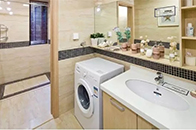 家里面積小洗衣機沒地放??