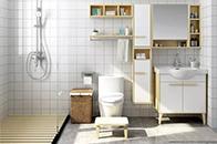 """卫生间小没什么大不了 利用设计""""巧妙扩充""""卫浴间"""
