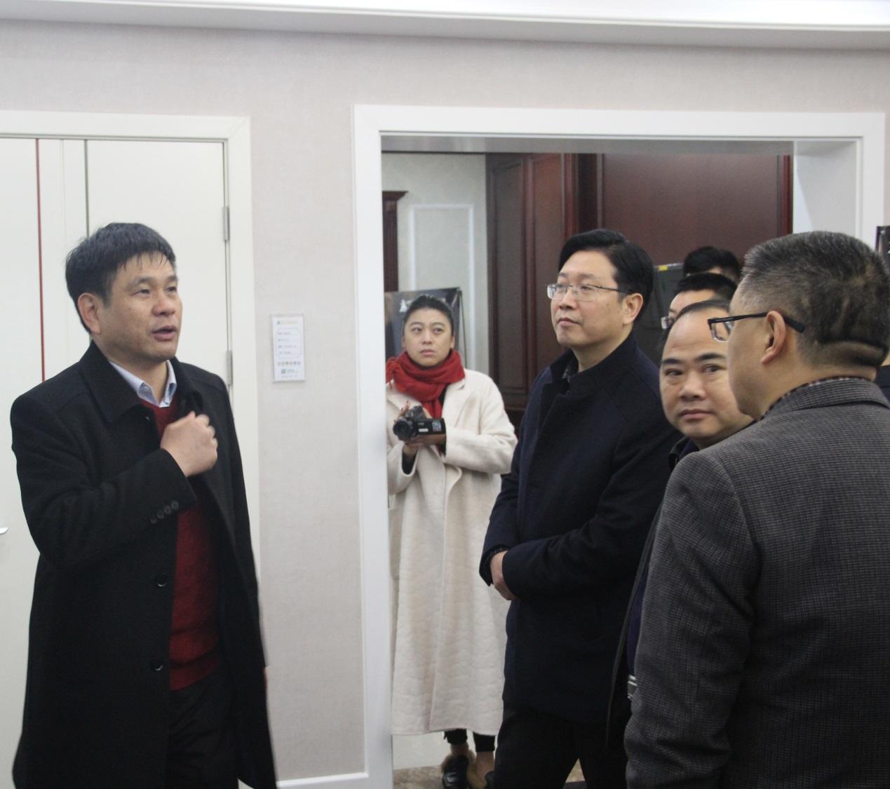 蓬溪县委书记张智勇一行考察王力