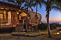 住在竹筒中面朝大海仰望星辰 感受大自然馈赠的礼物