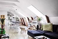 北欧风下的客厅如何与色彩产生美学反应?