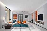 """""""我是设计师""""作品丨简约与色彩并重 打造现代摩登别墅"""