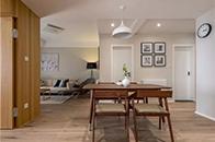 用简约的设计打造舒适的三口之家