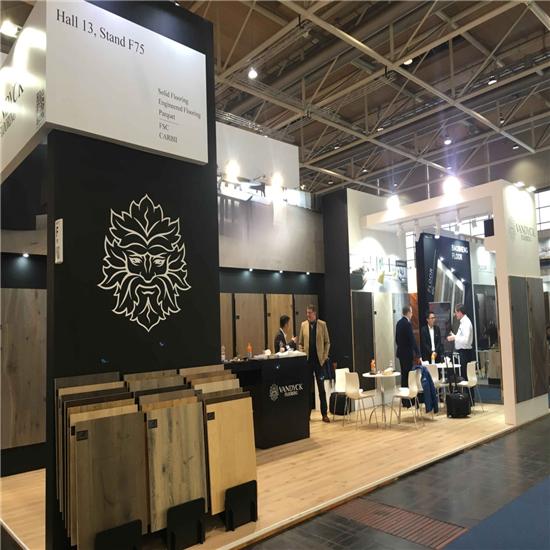 梵·戴克地板亮相2019德国汉诺威国际地面材料展