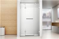 德立淋浴房RA3新品上市   看不见一颗螺丝的淋浴房 开创行业真正极简风格