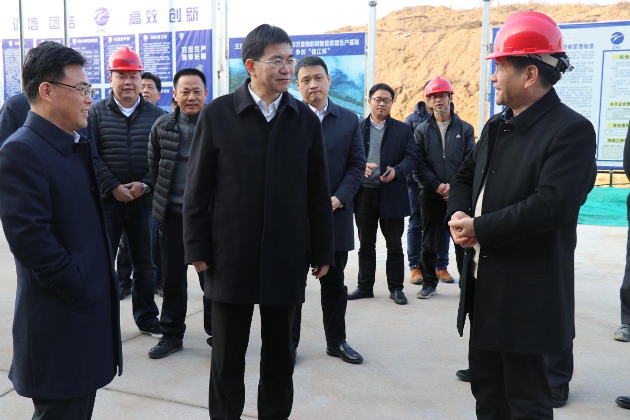 智能化赋能永康工业,金华市委书记陈龙调研王力智能化工厂