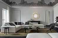 沙发布置不仅决定了客厅的颜值,还影响了动线设计