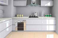 """""""油烟重灾区""""的厨房瓷砖该如何清洁保养呢?"""