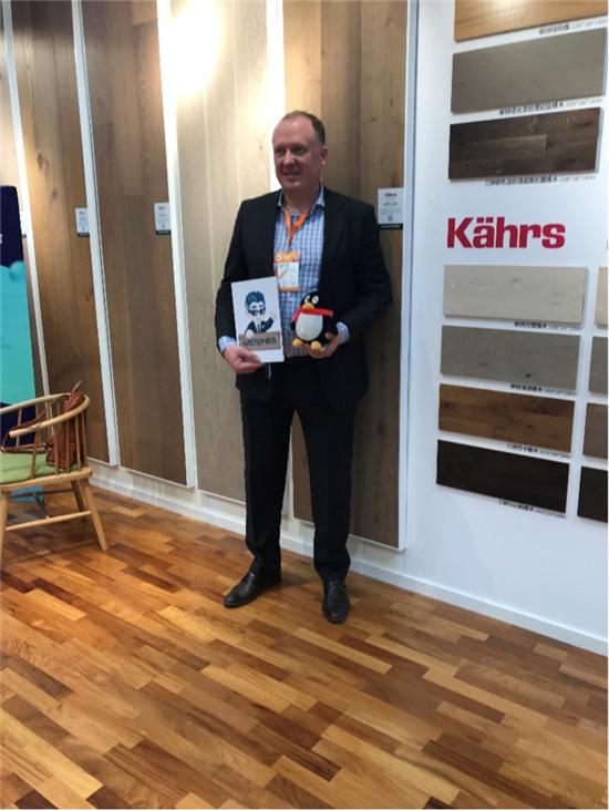 得高地板Kahrs品牌亚太营销总监Alexei Pechorin——投入更多花色 期待中国市场腾飞