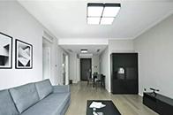 黑白配 小公寓满满的高级感