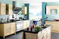 厨房设计顺手和方便很重要,以下四点要注意
