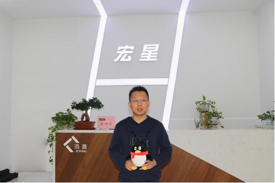 宏星地板董事长尚文才——创新成?#22836;?#23637;动力 品质造就未来