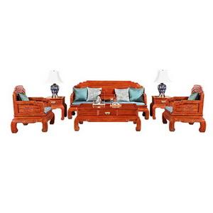 中信红木 荷塘月色沙发
