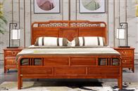 臥室老榆木家具這樣搭配,提升幸福感!