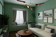 美术生设计51㎡公寓,轻奢里带点清新