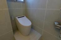 3㎡卫生间凸出1根柱子,置物空间更多了