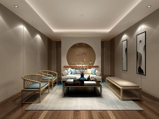 新中式+木地板,专属中国人的生活格调