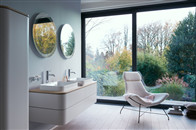 Happy D.2 Plus优雅夺目的浴室氛围更添生动廓形与色彩