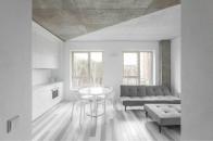 60㎡ 极简白+水泥灰,这样设计空