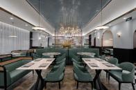 東井設計丨莎邦贝茶餐厅 闹市中的一抹宁静