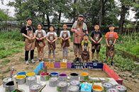 芬琳漆融入中國自然教育,爲孩子們打造多彩想象空間