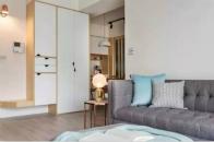 90㎡小户型简约风格,休闲舒心的小美宅!