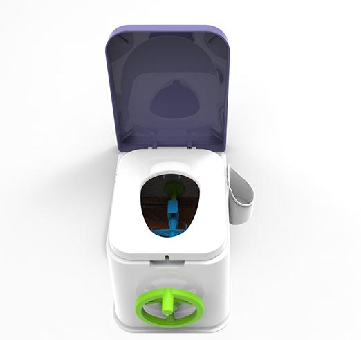 环保生物科技无水自降解厕所助推农村户厕改造升级