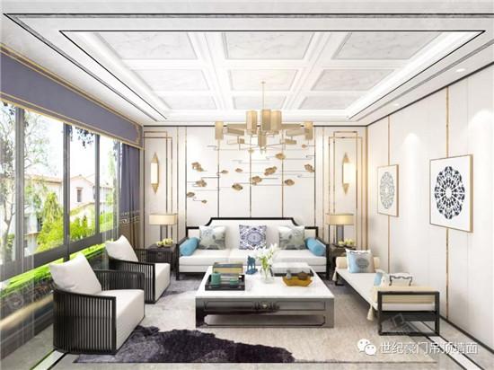 世紀豪門|美翻了的客廳吊頂,看上一眼就愛上,回家也要裝一個