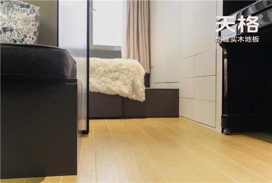 """用天格地暖实木地板,每个人都能拥有""""豪宅""""体验"""