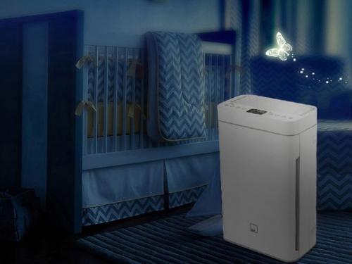 卧室除甲醛空气净化器可以让我们安心睡个好觉