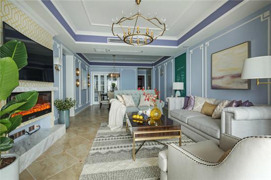 新古典風 | 夢幻紫為主色調,打造淡雅溫暖婚房