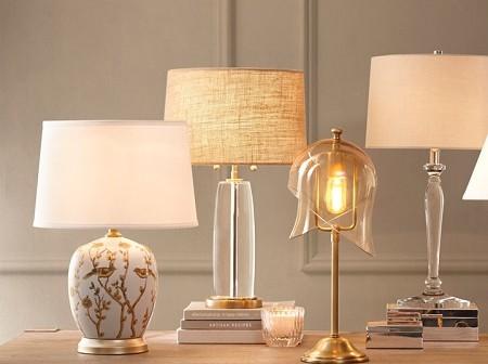材質比光影還美,Harbor House新季臺燈顏值在線
