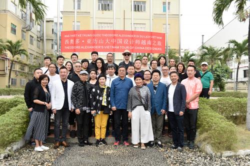 西奥多·亚历山大开启中国设计师环球之旅