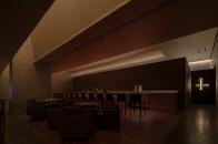 萬社設計丨鄰舍有機餐廳 藝術與光影的古典舞蹈