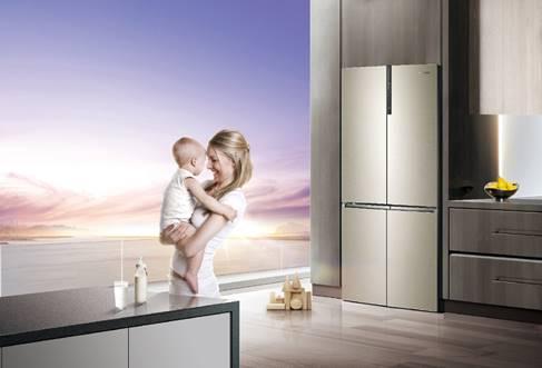 卡薩帝嬰愛冰箱上市 提供全周期母嬰健康解決方案
