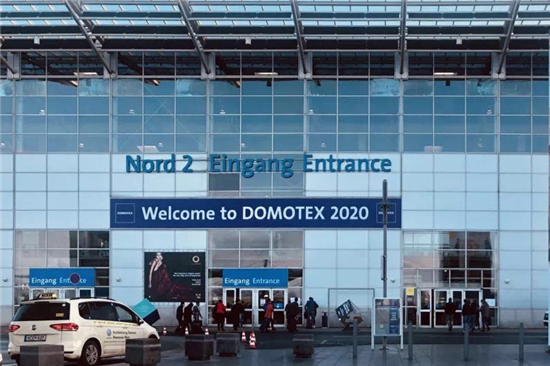 DOMOTEX 2020|肯帝亞攜黑科技地板亮相德國國際地材展