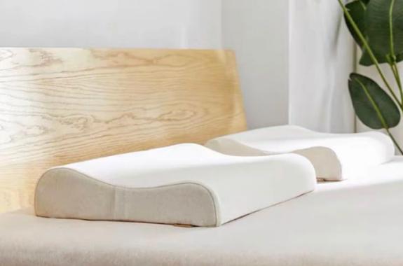 趣睡科技93%乳胶枕,可机洗晾晒