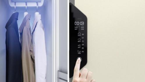 索菲亞黑科技定制衣柜震撼來襲!可烘干、消毒、殺菌、除螨和護理衣物