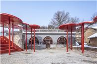 三文建筑新作 韓洪溝老村復興計劃——大槐樹下的場院