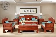 产品测评丨中信红木明星产品《路路顺沙发》,畅享中式风范