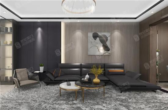 世紀豪門|【優秀設計方案】意式輕奢風私宅,灰調生活的高級質感