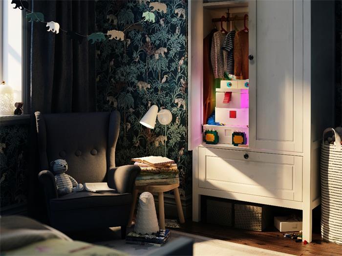 玩耍 展示 玩无止境——宜家携手乐高集团推出BYGGLEK 比格列克系列,用趣味储物方案创造更多玩耍空间