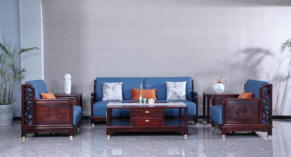 古森红木《和悦沙发》