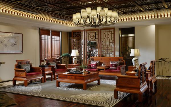 国寿红木《玉如意客厅》