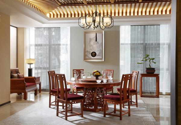 国寿红木《玉如意餐厅》