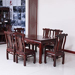 古森红木 古韵餐桌