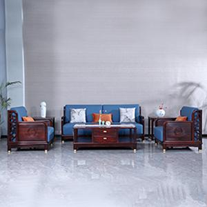 古森红木 和悦沙发