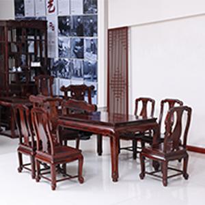 古森红木 明式餐桌
