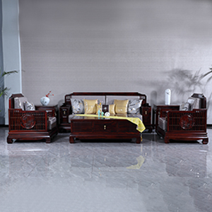 古森红木 悦谱沙发