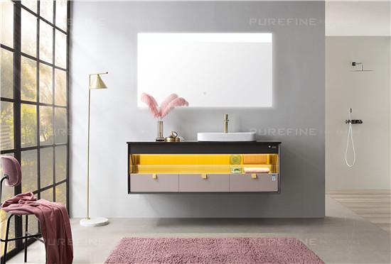 評測|普瑞凡眼界浴室柜,溫柔配色,知性生活